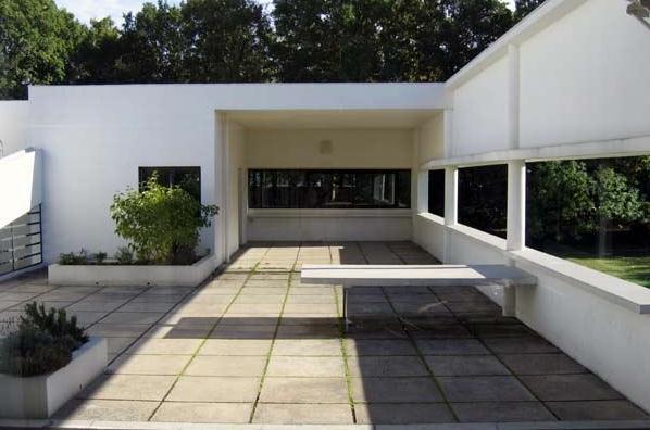 Ville savoye le corbusier despiertaymira - Le corbusier tetto giardino ...