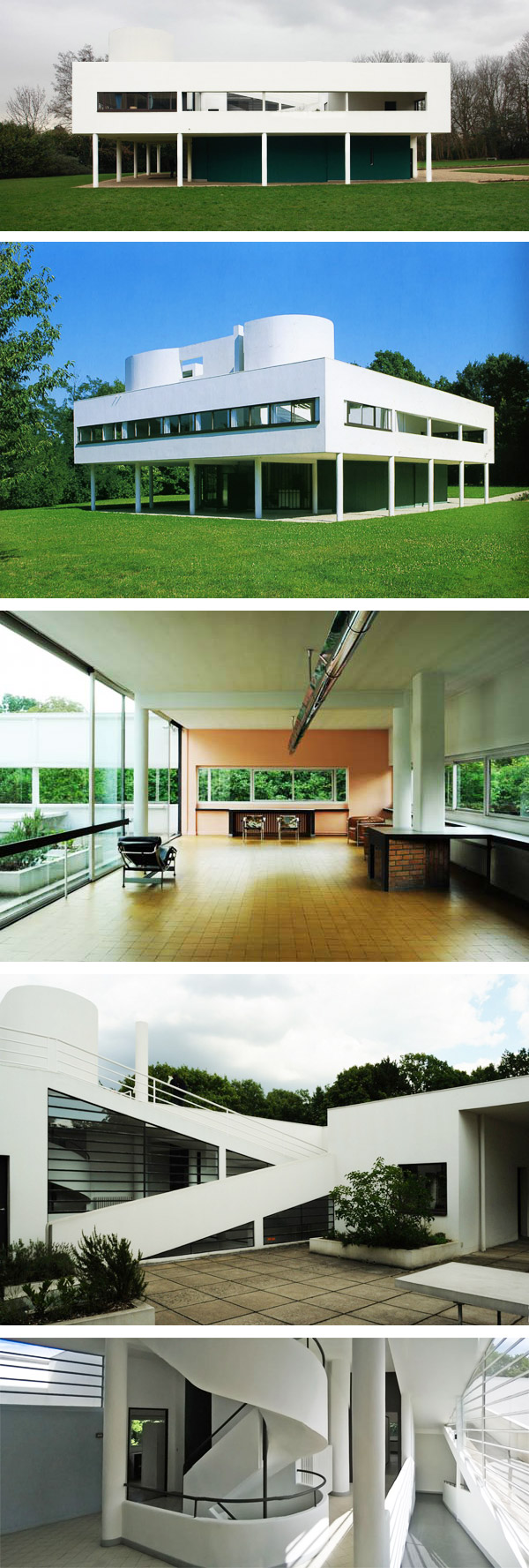 VILLE SAVOYE, Le Corbusier