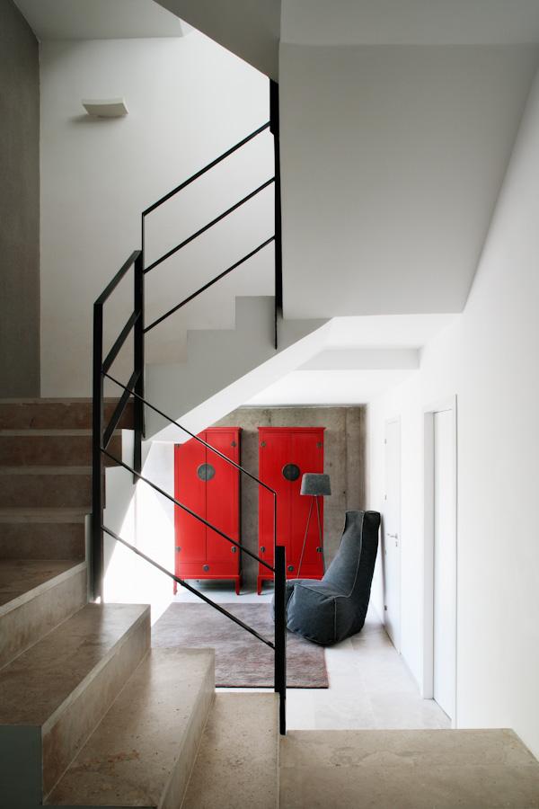 escaleras y zona común