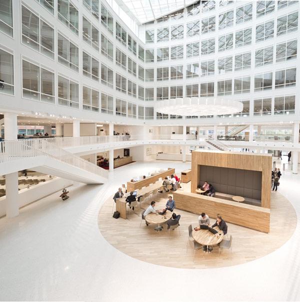 Sede de Eneco en Rotterdam