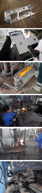 Proceso fabricación fachada cristal