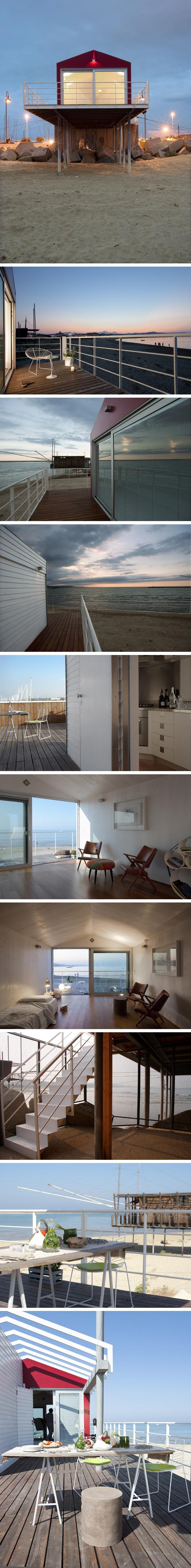 Una habitación sobre el mar
