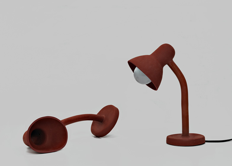 Rubber Lamp