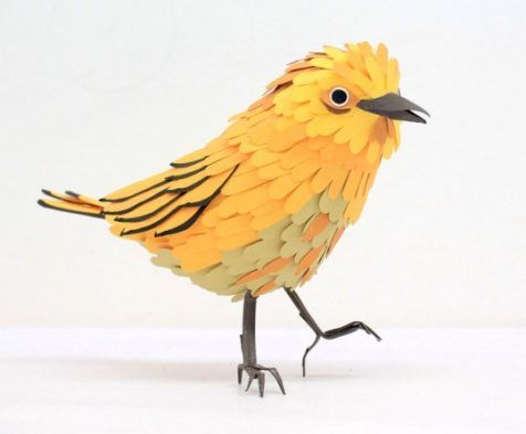 Pájaros de papel