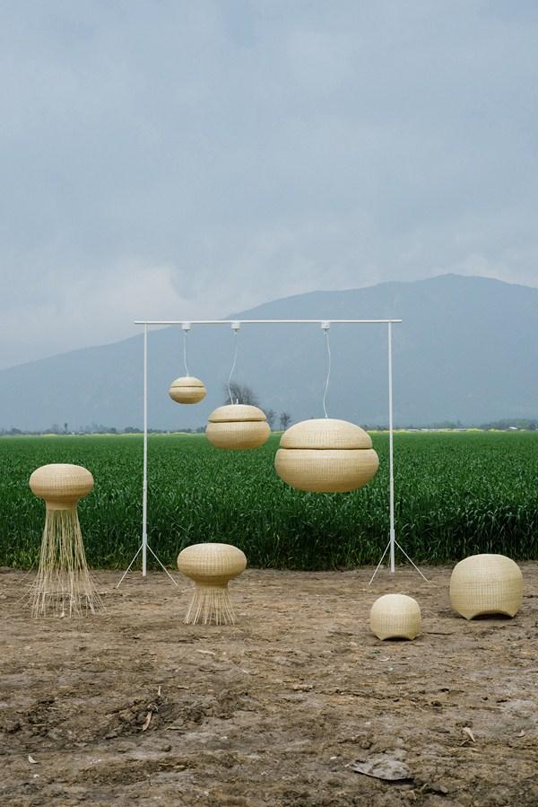 Lámparas inspiradas por la naturaleza