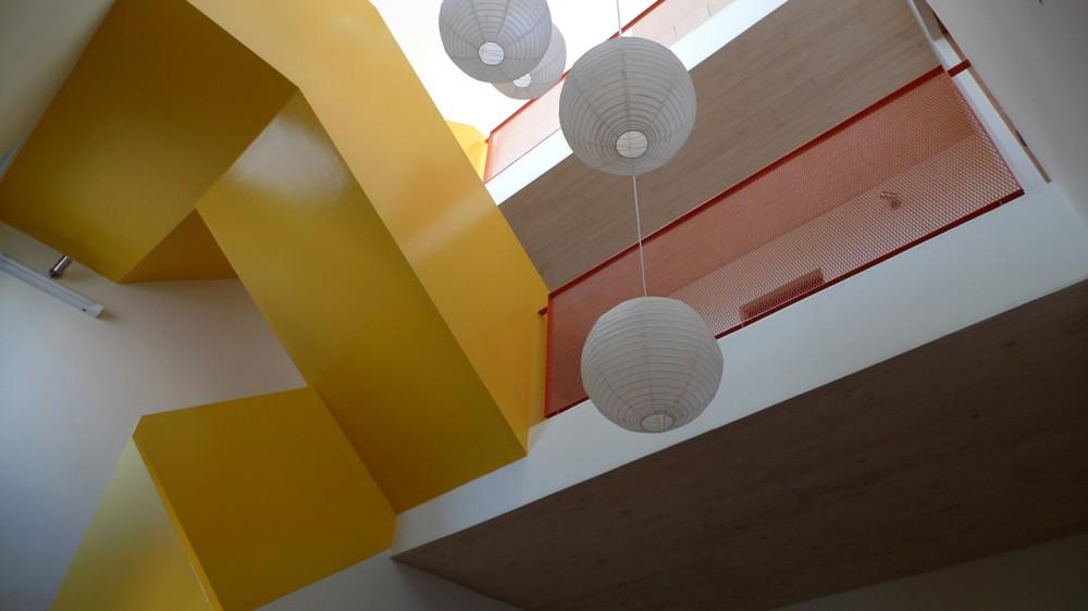 foto horizontal de la escalera de felipe ortiz