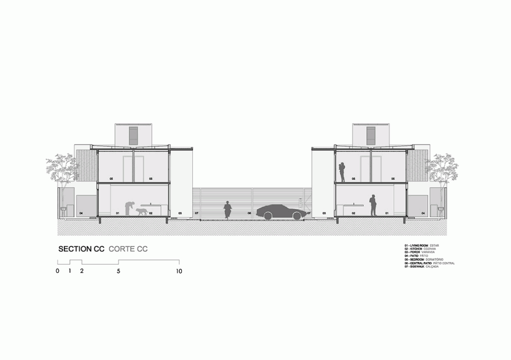 52a1e4fae8e44e00d8000060_casas-av-corsi-hirano-arquitetos_1106_section_cc_corte_cc-1000x706