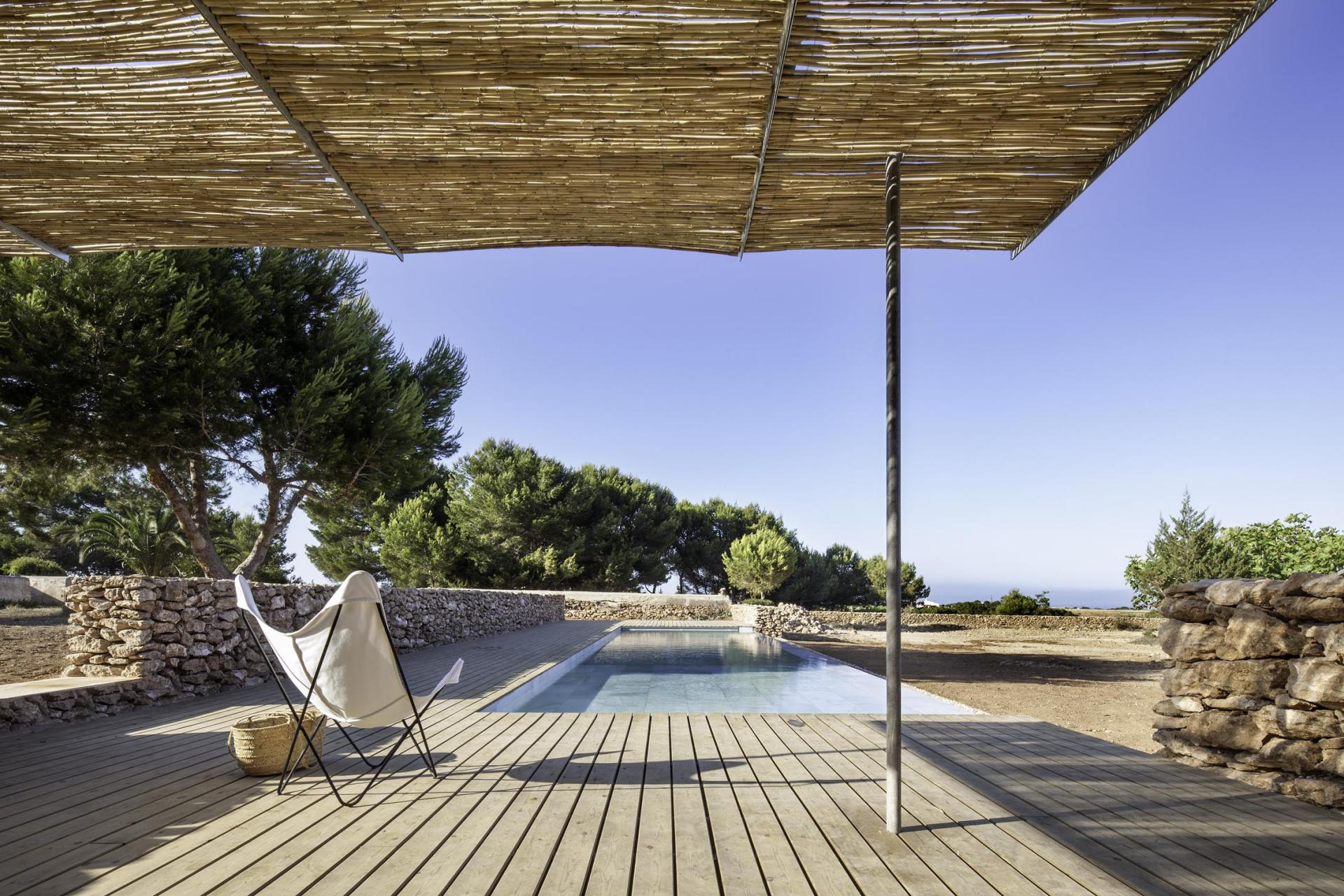 Piscina en Formentera