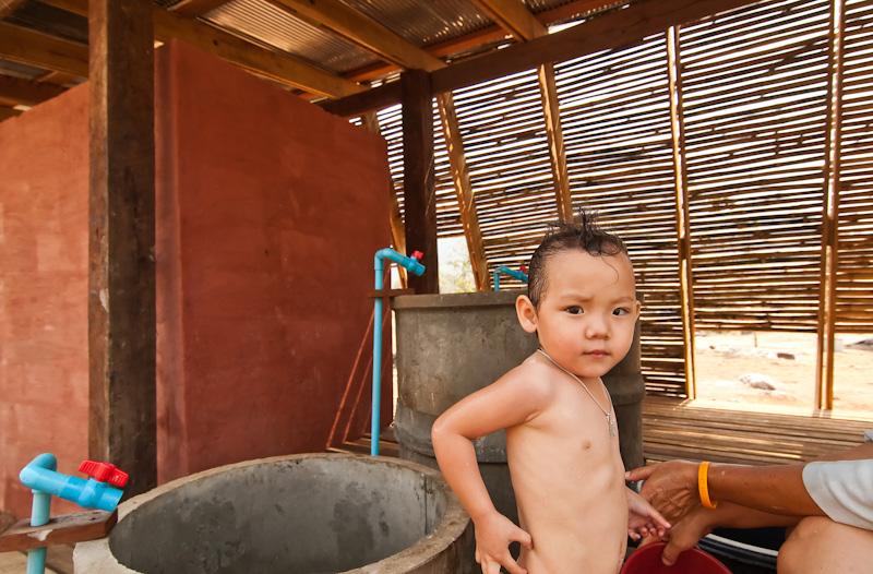 Badehus, Safe Haven Orphanage, Ban Tha Song Yang, Thailand