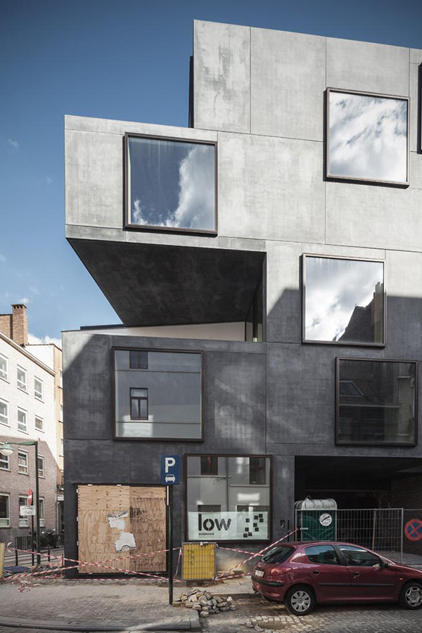 LOW architecten . Guesthouse 'Little Willy' . Brussels (5)