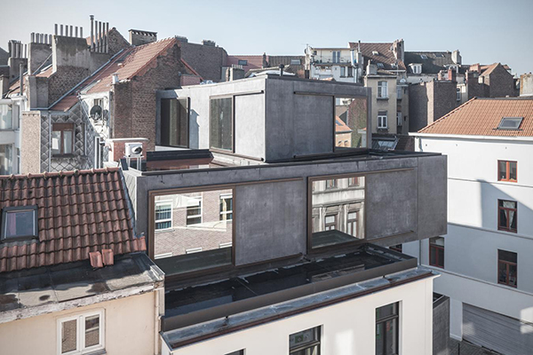 LOW architecten . Guesthouse 'Little Willy' . Brussels (6)