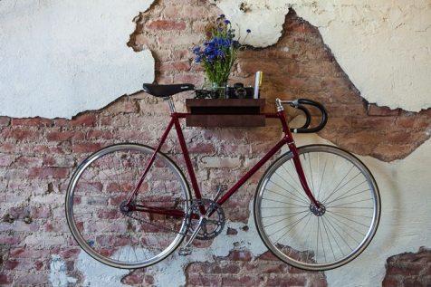 10 soportes de bici decorativos
