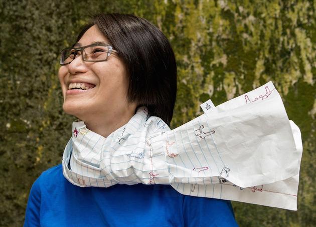 Bufanda de papel | Little Factory
