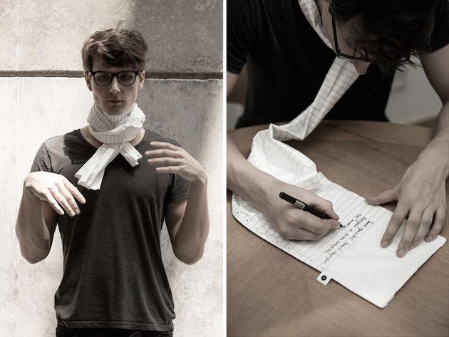 Bufanda de papel de little factory-12