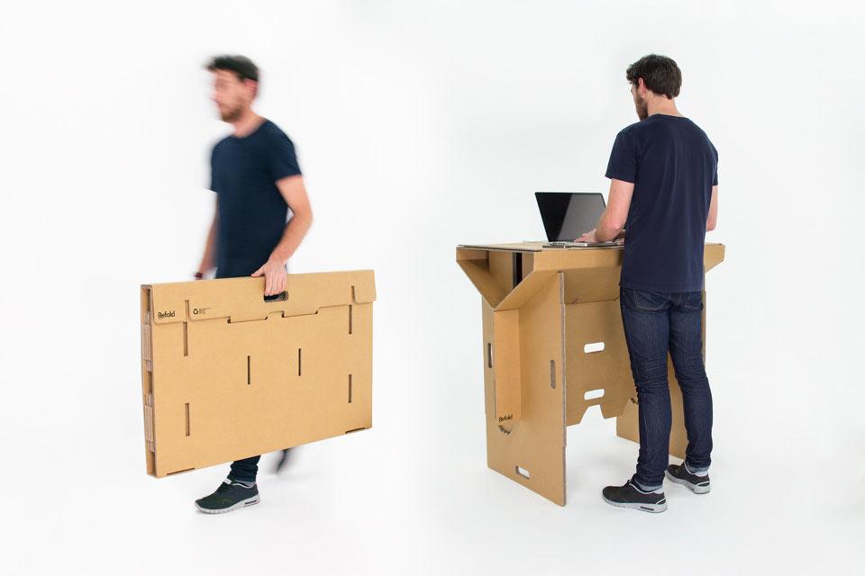 Un escritorio portátil