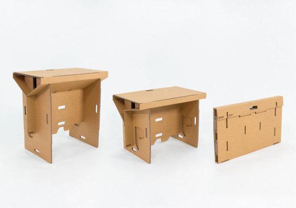 Refold_Portable-cardboard-desk-Matt-Innes-2-600x422