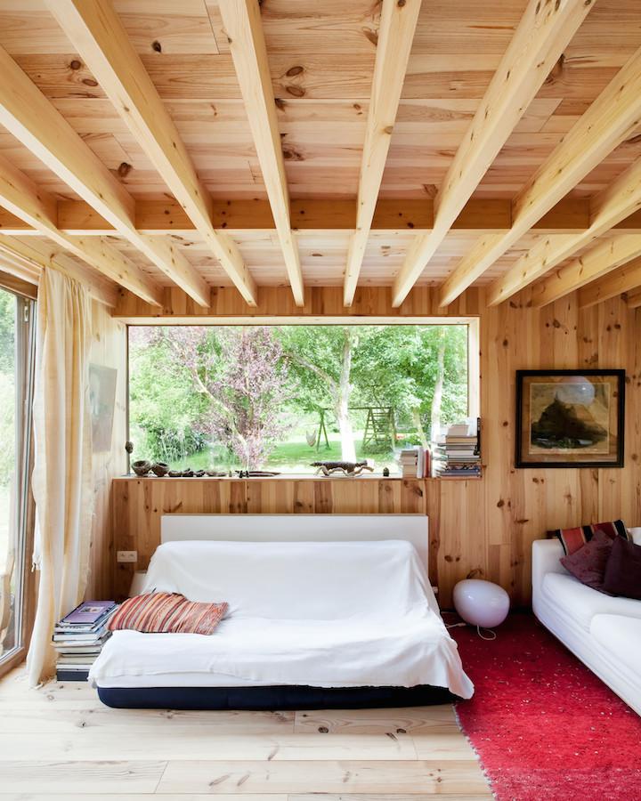 La casa de las 14 fachadas despiertaymira - Casas de madera decoracion ...