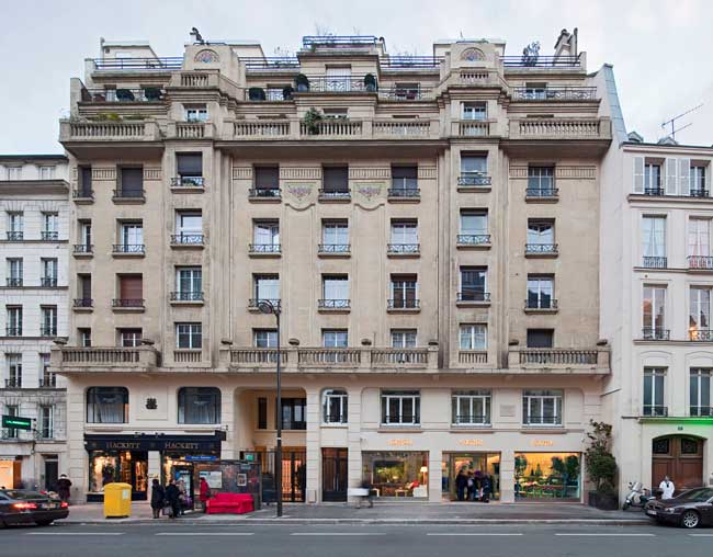 Tienda emblemática de Hermès en Paris
