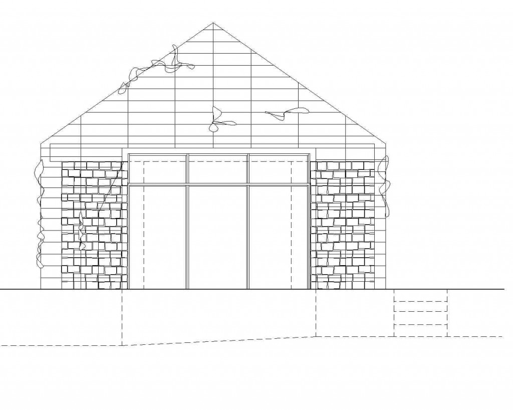act_green box_south elevation