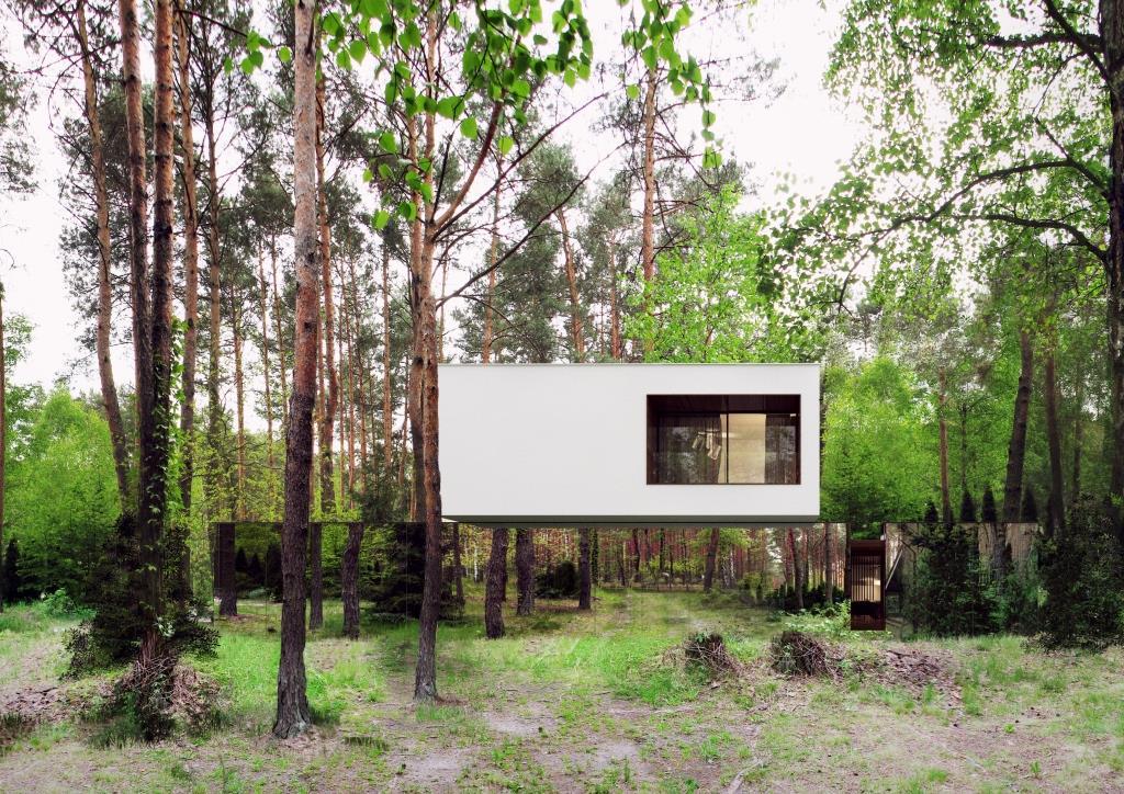 """Suspendida entre árboles: """"Isabelin House"""""""