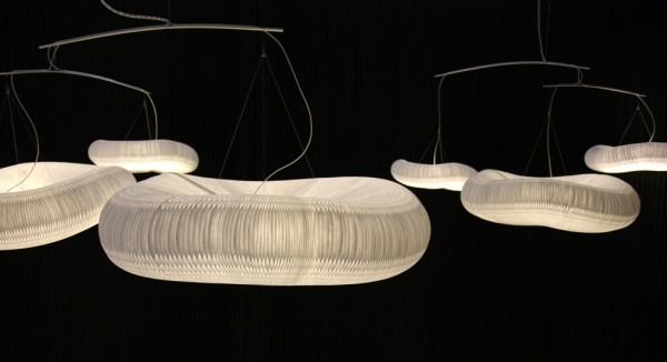 Las lámparas cloud (nube) de Molo Design