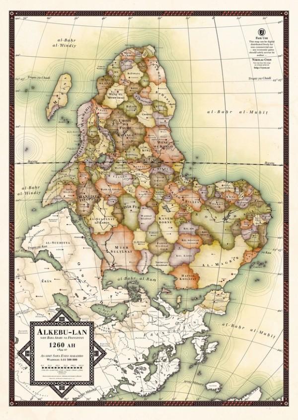 making Africa mapa