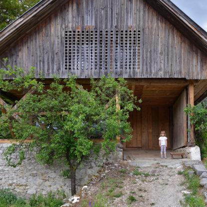Apartamento loft en un granero alpino