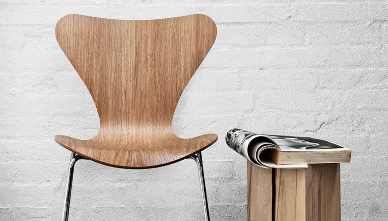 Siete arquitectos reinterpretan la silla Series 7 de Arne Jacobsen