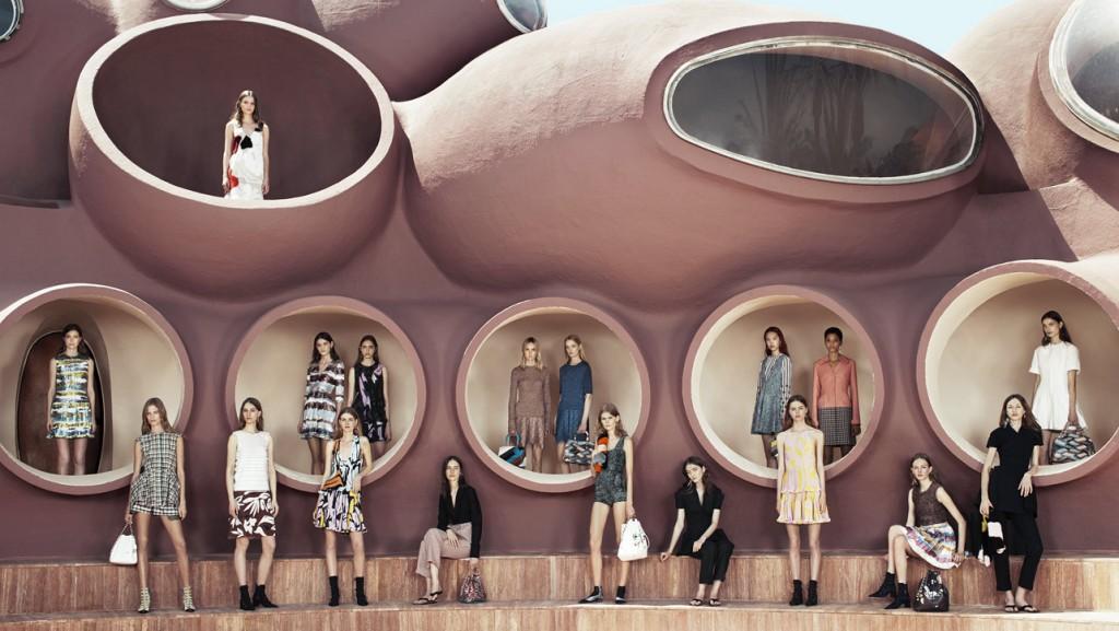 La residencia de verano de Pierre Cardin como pasarela de la moda Dior