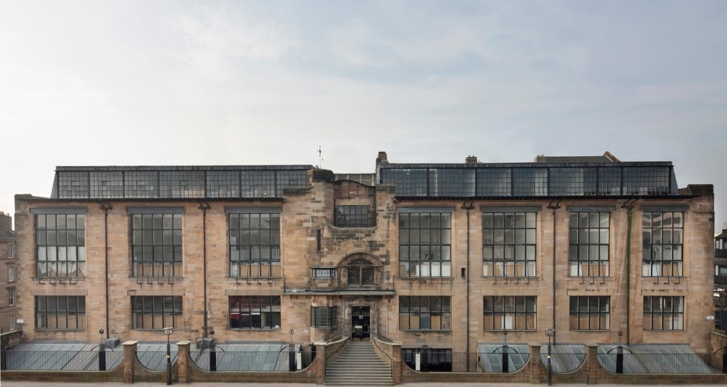 tha glasgow school of arts Mackintosh Building Photocredit Alan McAteer