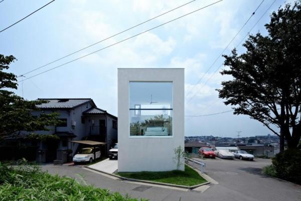 House in Hiyoshi, una solución luminosa para espacios reducidos