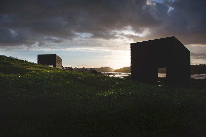 Unas cabañas minúsculas para disfrutar de la costa neozelandesa
