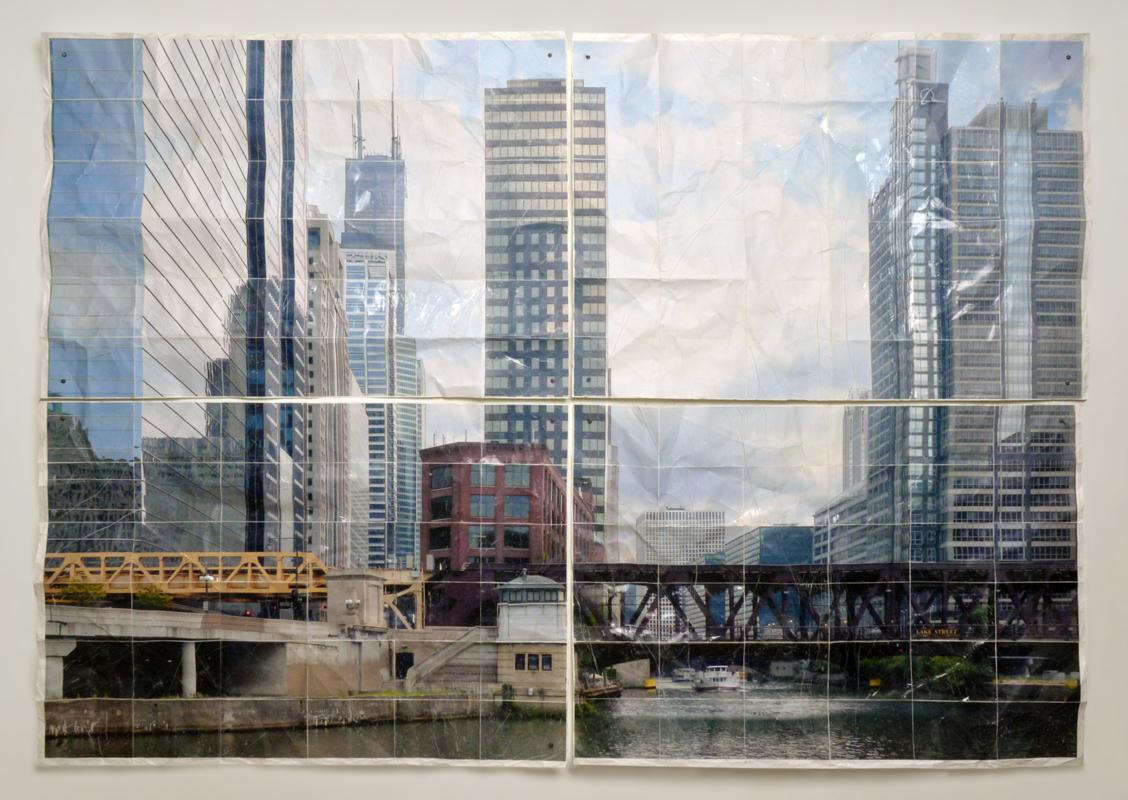 Fotografía escultórica que deconstruye memorias urbanas