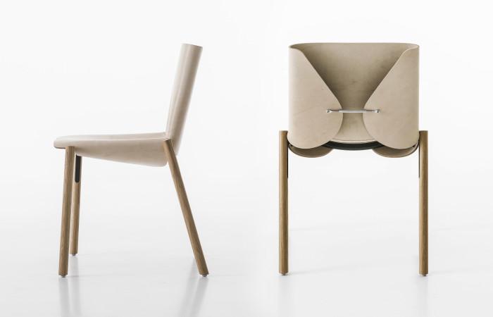 El atractivo de la silla italiana que envejece