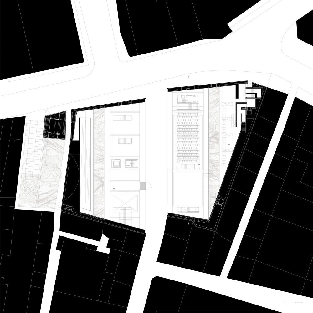 Centro SINES despiertaymira Aires Mateus.-ground-floor-plan