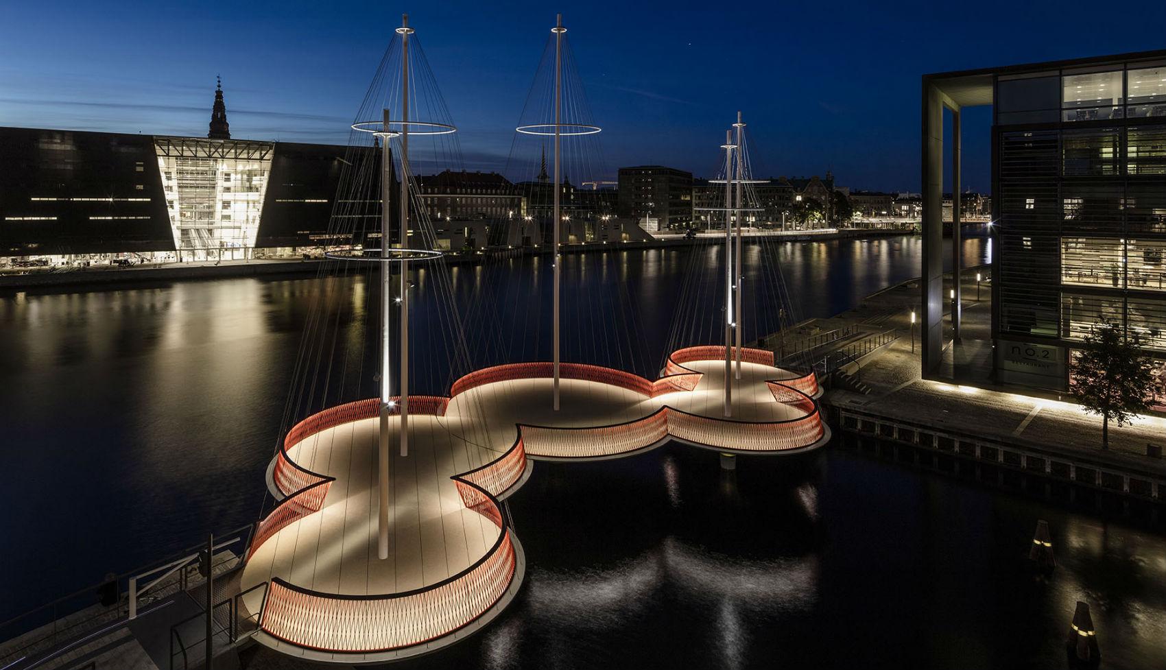 Cirkelbroen, un velero anclado para siempre en Copenhague