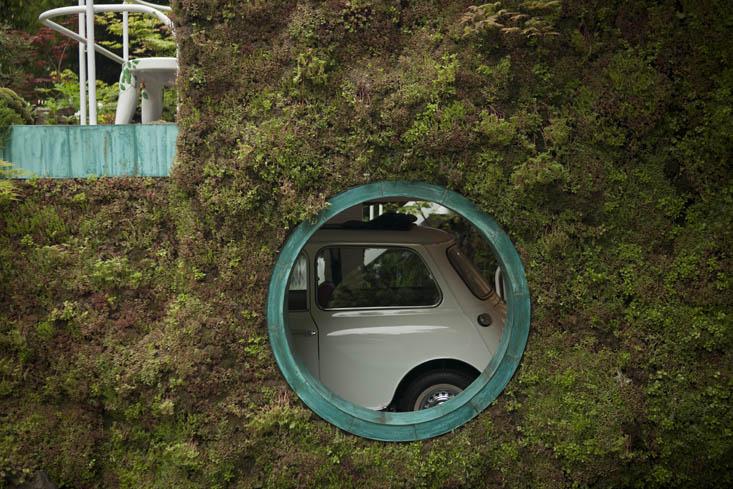 El paisajismo exuberante de Kazuyuki Ishihara y su Garage Garden