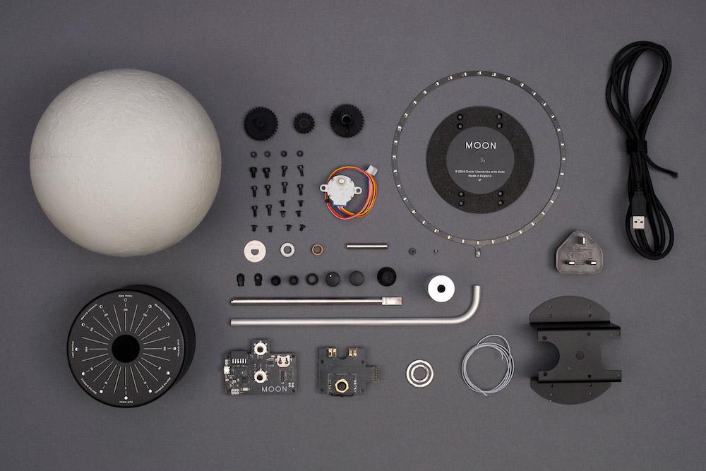Imagen de los componentes de Moon
