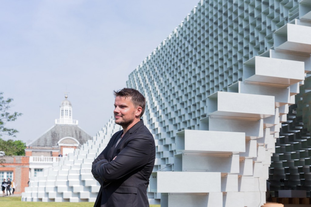 Bjarke Ingels arquitecto del pabellón serpiente