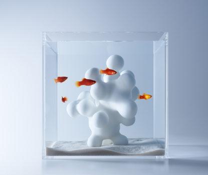 Haruka Misawa y sus caprichosos paisajes acuáticos en 3D