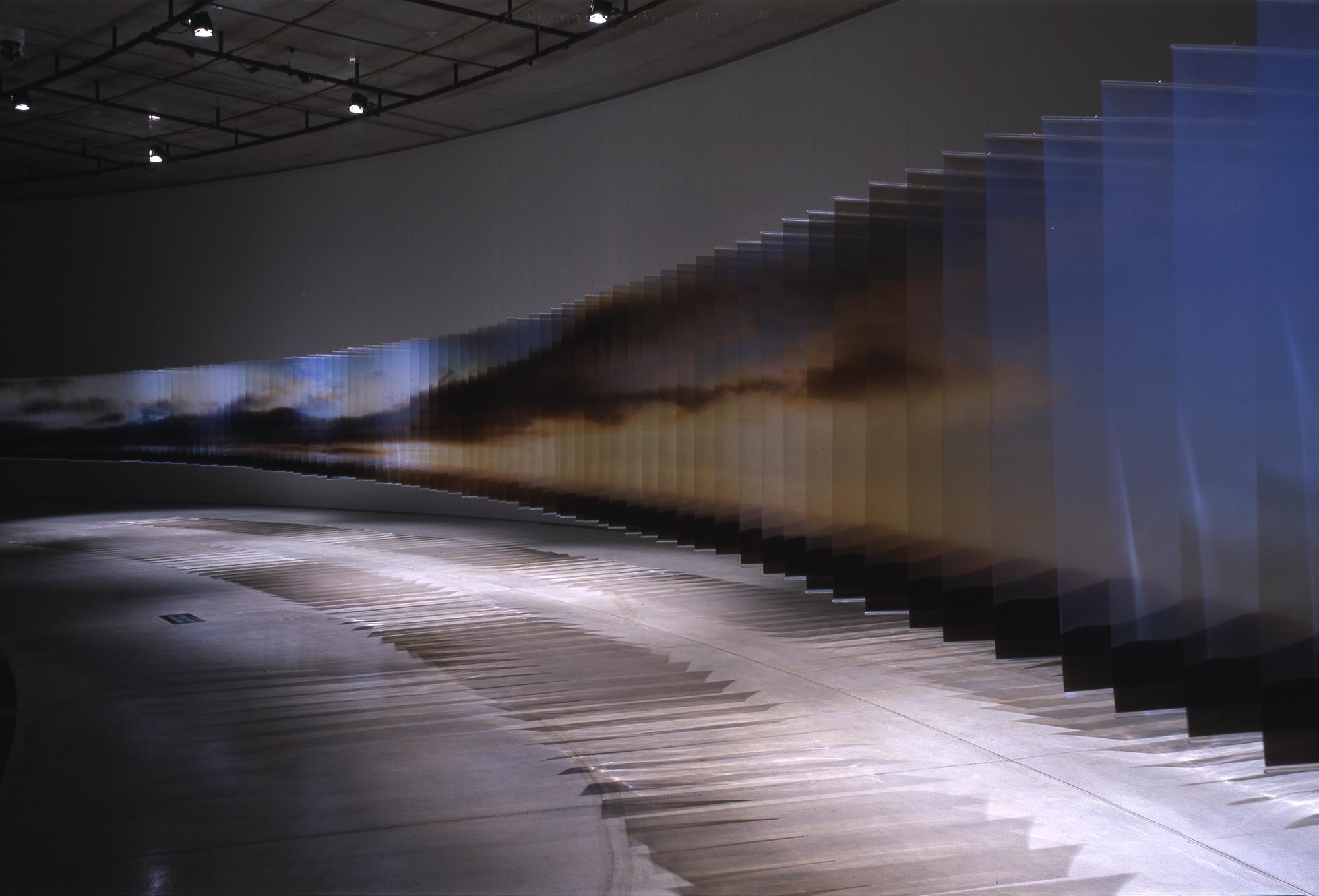 El tiempo en perspectiva de Nakanishi y sus Layer Drawings