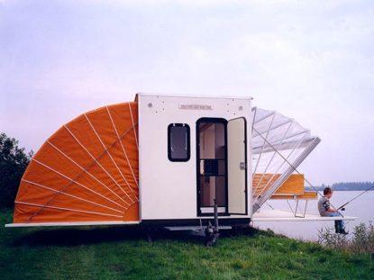 Una caravana vintage nada corriente de la mano de Böhtlingk Architecture