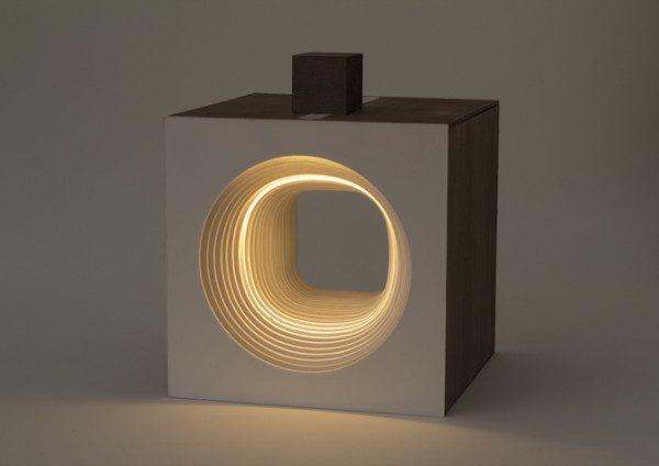 Lampara Panta Rei Light cube circular