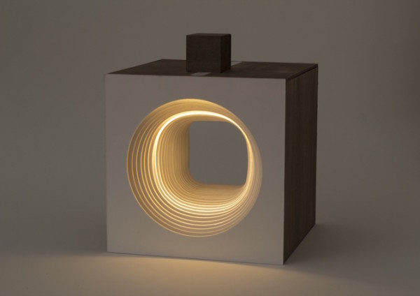 Lampara Panta Rei Light cube circular