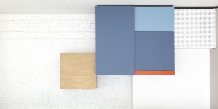 Detalle del mobiliario de renovación de un loft