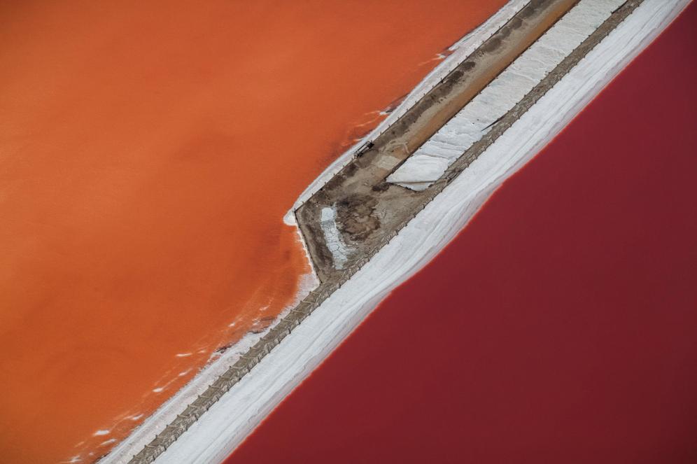 Fotografía aérea de la artista Julieanne Kost