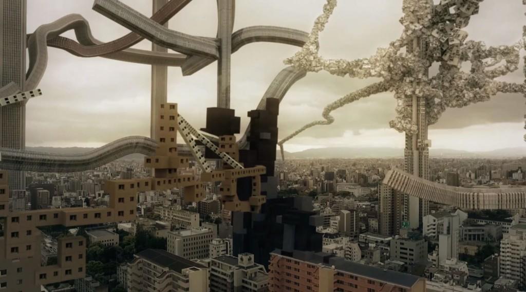 muestra del paisaje urbano como un organismo vivo