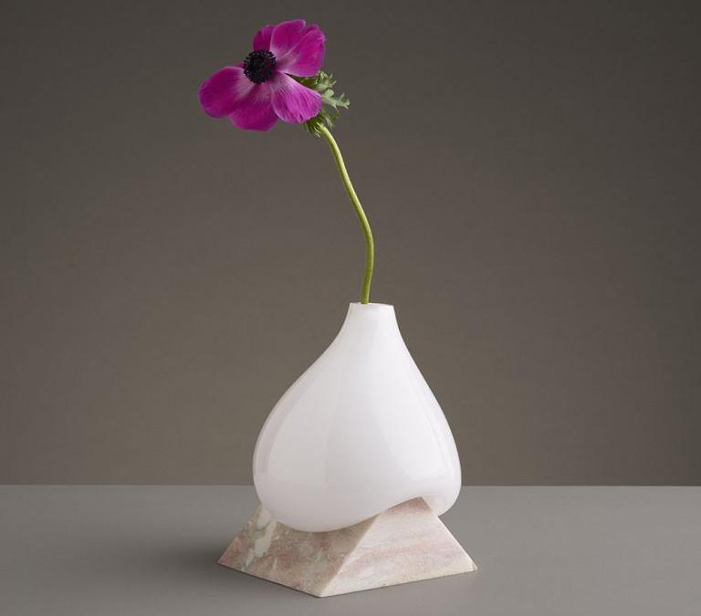 infivitive vases experimenta con varios tipos de minerales