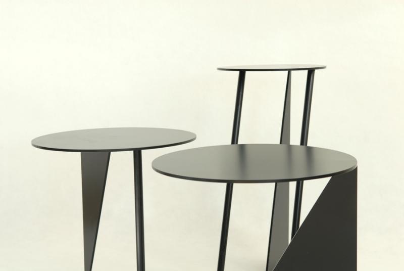 La estética rompedora de las mesas Stabile