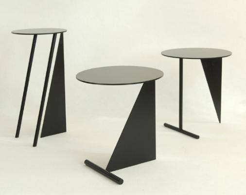 vista general de los 3 modelos de la mesa stabile